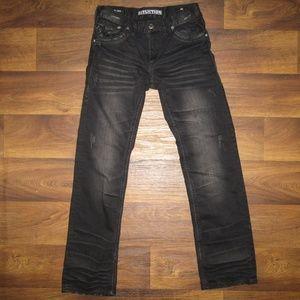 Affliction Blake Jeans Black Denim Size 30 Men